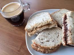 koffie en een boterham
