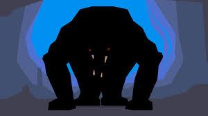 zwart monster