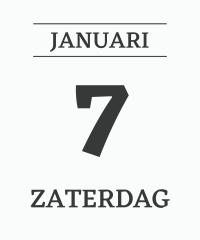 Altijd weer 7 januari
